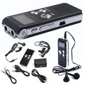 Levert DropshipDel Unidad USB Recargable 8 GB de Audio Digital Grabadora de Voz Del Dictáfono Reproductor de MP3 EE. UU. Octubre 06