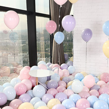 Fantasy Candy Colors 10inch Latex Balloons 100pcs/lot for Wedding Birthday Party Event Arrange Decoration Supplies AQ085