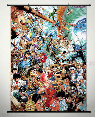 One Piece Home Anime Japanese Poster Wall Scroll 054