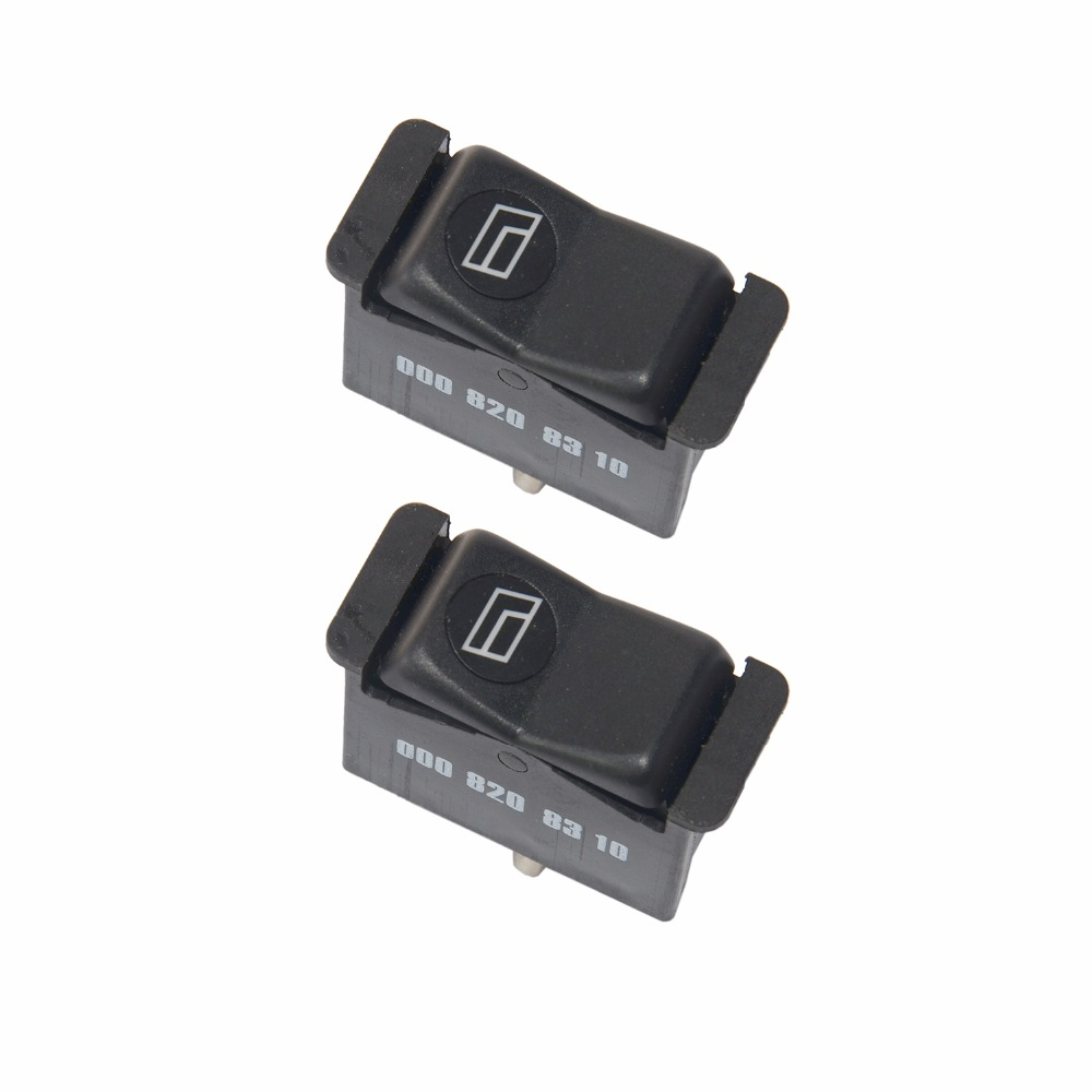 2 Window Switches For Mercedes Benz W123 Coupe S123 S124 Kombi W126 Fuse Box Location C126 S Class W201 190 W210 E Sl R107 In Cabin Filter From Automobiles