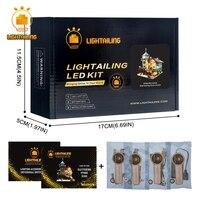 LIGHTAILING Led Light Up Kit Pour Vieux Magasin De Pêche Modèle Building Block Lumière Ensemble Compatible Avec 21310 Et 16050