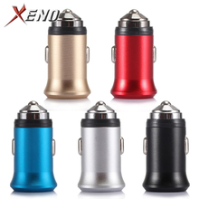 Universal Dual USB Car Charger 5V2.A Mini Fast Charging Without LED for Mobile Phone Smartphone Xiaomi Samsung iPhone X