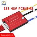 Daly 3 7 в 13 S 45A 60A 48 в PCB BMS для 18650 LiNCM литий-ионный аккумулятор с балансным литий-ионным аккумулятором для скутера балансиры