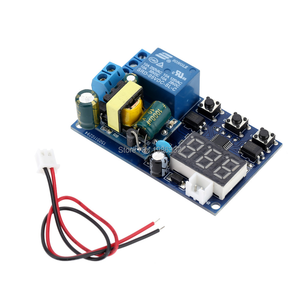 Ws16 Ac 110v 220v 5a Led Display Self Lock Trigger Cycle Delay Time Timer Relay Switch Circuit Plc Home Automation Module In Relays From Improvement On