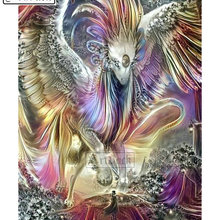 Full square / round drill diamond painting dragon abstract animal 3d diamond embroidery resin mosaic home decoration painting
