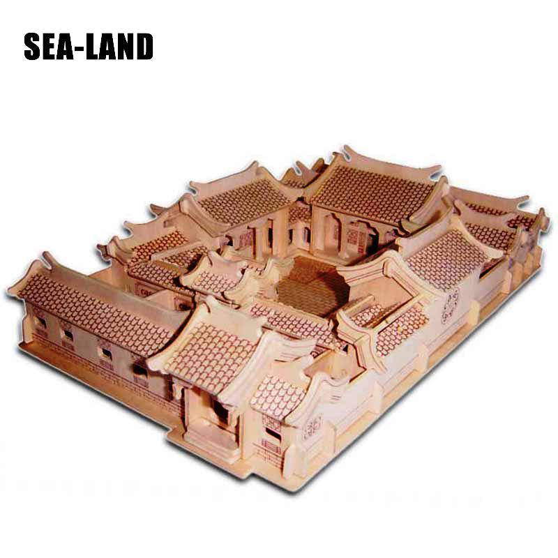 Gyerekek játék gyerekeknek is felnőtt 3D fából készült puzzle - Puzzle játékszerek