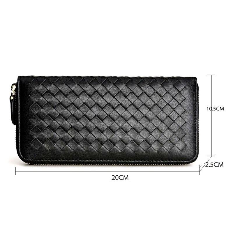 couro feminina para mulheres carteiras Main Material : Leather Purses And Wallets