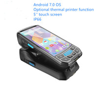Carrier Inventory Rugged PDA Android scanner Handheld Honeywell 6603 QR code 2D Barcode scanner pda android with printer