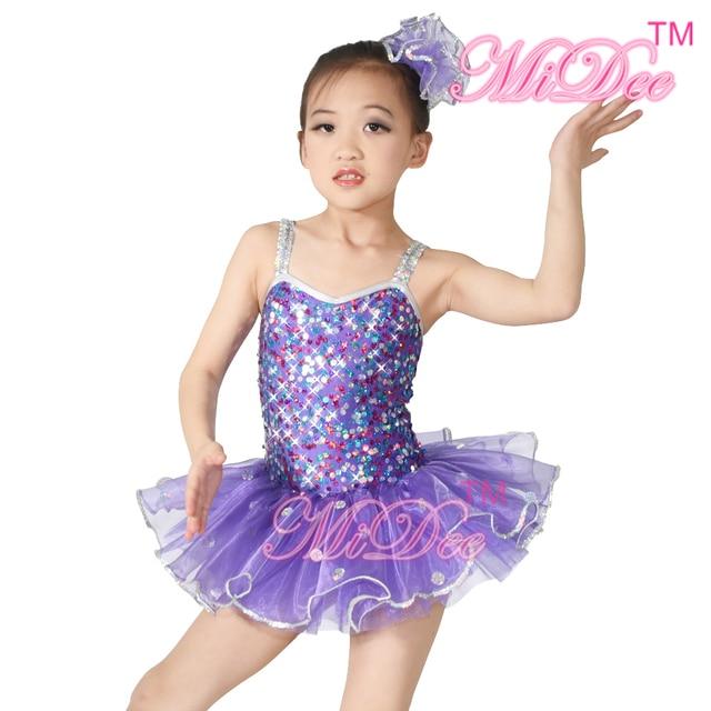 Aliexpress.com  Buy Sequin Girls Ballerina Costumes Dancing Dress Kids Ballet Tutu Ballerina ...