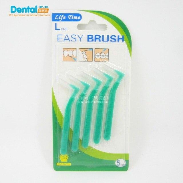 Perawatan Mulut Benang gigi Interdental Sikat Gigi Gap Brush Perawatan Gigi  Tusuk Gigi Kekuatan Tinggi Pegangan 4c610c9435