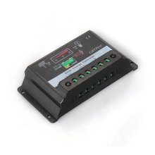 DSHA New Hot Controller Charge Controller for Solar Panel Battery 10A 12V / 24V