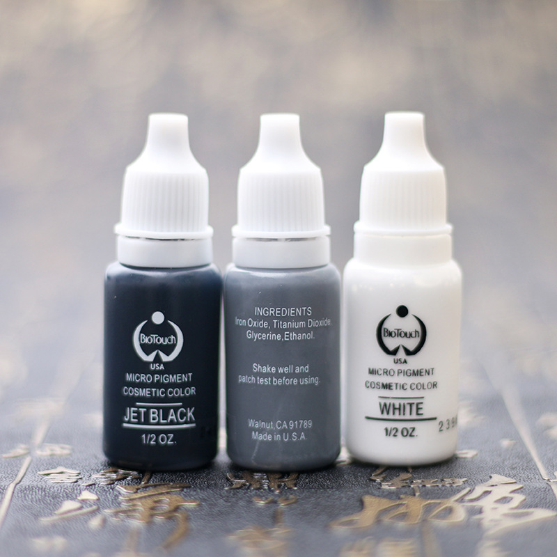 5pcs Eyebrow Tattoo ink Permanent Makeup Micro pigment Lasting Long 15ml /Bottle 23 Colors For Choose 13