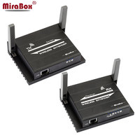 MiraBox HSV921 Беспроводной HDMI Extender Поддержка ИК 1080p @ 60 Гц Full HD HDMI передачи Беспроводной 60 м 196ft, сетевой кабель 120 м 393ft