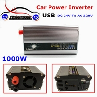 1000 Watt DC 24V To AC 220V Modified Sine Wave With USB Charger Converter Adapter 1000W