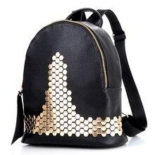 Кожа рюкзак рюкзаки для девочек-подростков bolsa де franja Губы swissgear рюкзаки школьные сумки для женщин с Заклепки