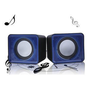 Speaker-Set Notebook Multimedia Computer Desktop Music-Stereo Mini Home Theater Portable
