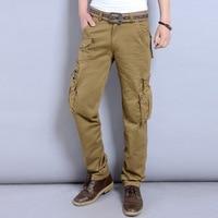 tactical cargo pants men 2017 military pants army trousers for man pantalon hommemens Cotton overalls men pants NO belts 28-38