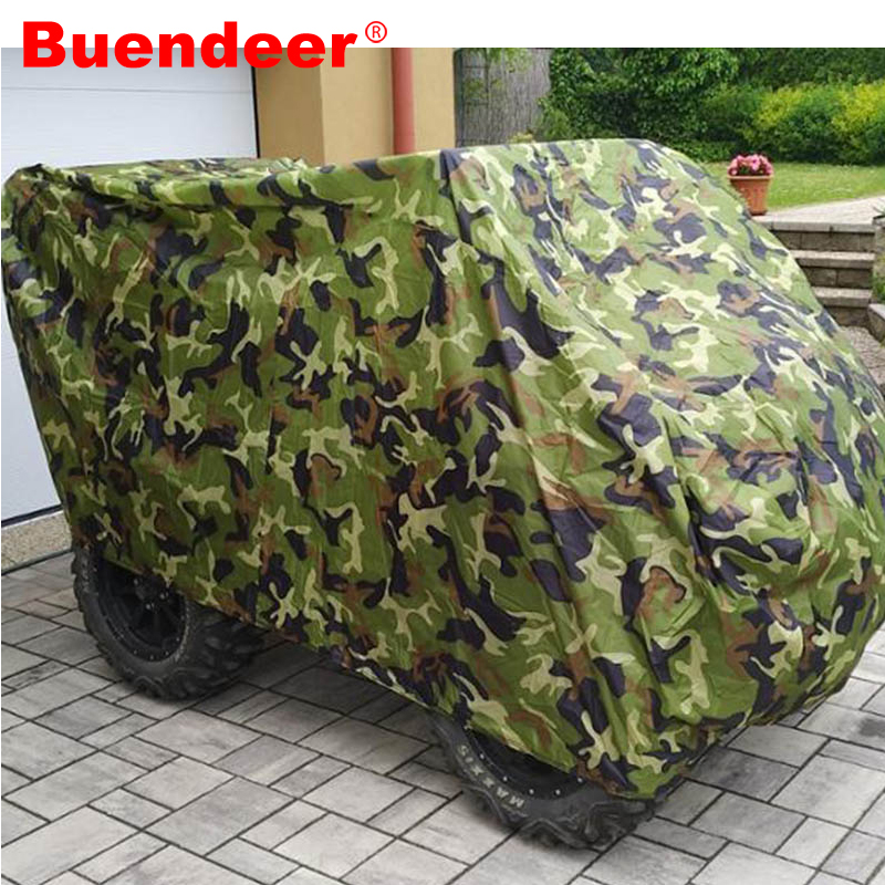 Rationeel Buendeer Atv Cover Terreinwagen Strand Quad Bike Cover Waterdicht Anti-uv Stofdicht Scooter Motor Cover L Xl Xxl Xxxl Gemakkelijk Te Smeren