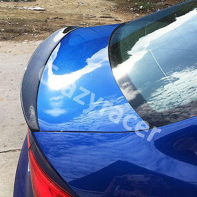 A3 S3 S line Carbon Fiber Auto Car Rear Trunk Spoiler Wing for Audi A3 8VS S3 Sline Saloon 2014-2016
