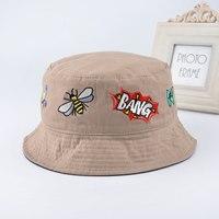 2016 Plain Bucket Hats Men Reversible Two Sides Can Wear 100 Cotton Sun Bob Cap Comfortable