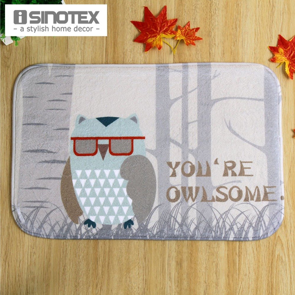 Non Slip Rugs For Kitchen Popular Owl Kitchen Mat Buy Cheap Owl Kitchen Mat Lots From China