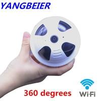 Mini CCTV Security IP Camera Wifi Full HD 1080P Smart Wireless IP Camera Fisheye 2MP P2P