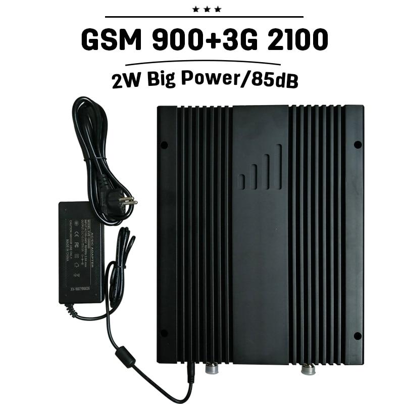 2G GSM 900 3G WCDMA 2100 MHz Penguat Sinyal Mobile GSM UMTS 2100 LCD - Aksesori dan suku cadang ponsel - Foto 1