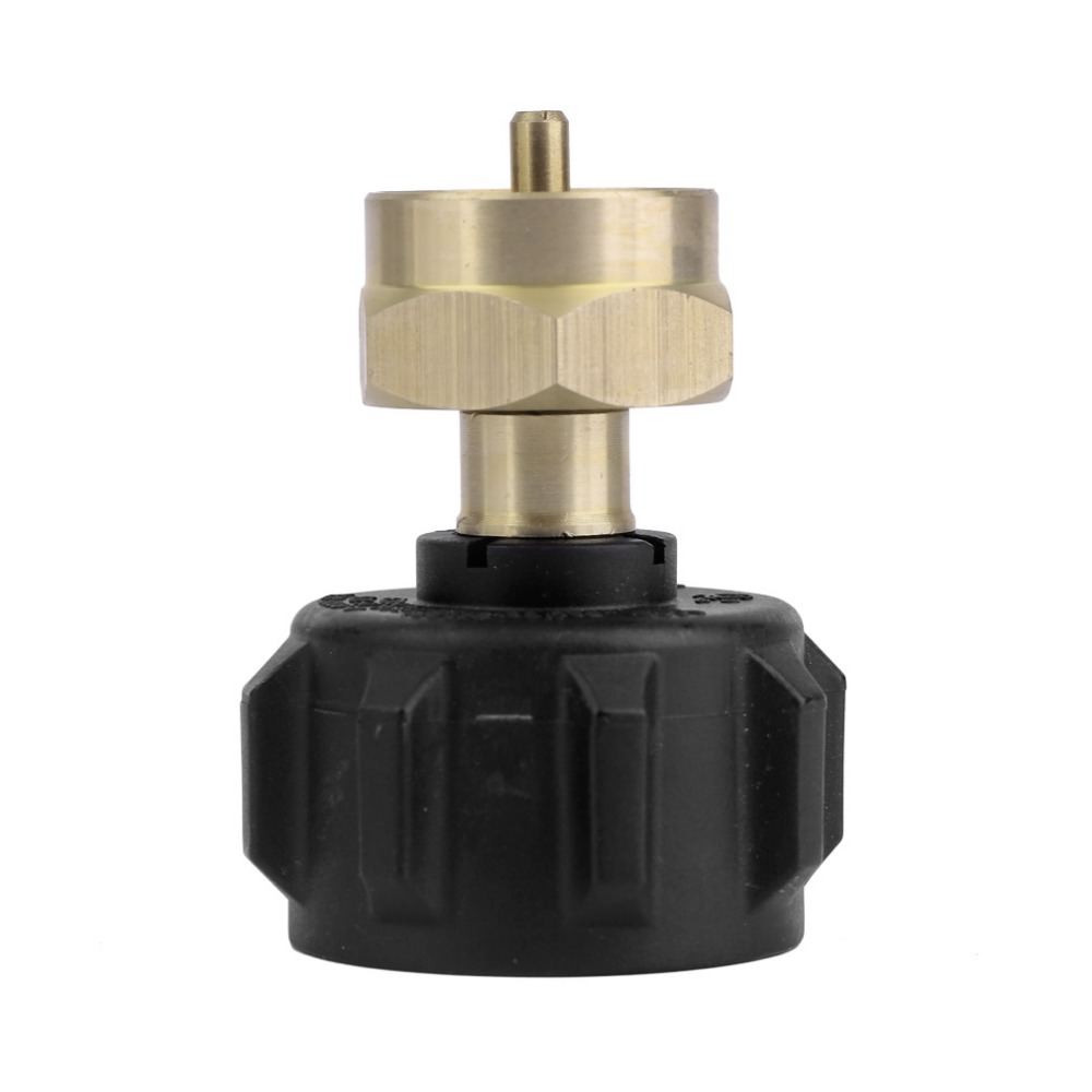 Professional Outdoor Picnic Barbecue BBQ Cooking Gas Propane Regulator Valve Propane Refill Adapter Stove Accessories Free Ship