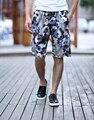 2016 Summer Men's knitting shorts Casual Loose Beach Shorts Fashion Floral Ethnic  Shorts