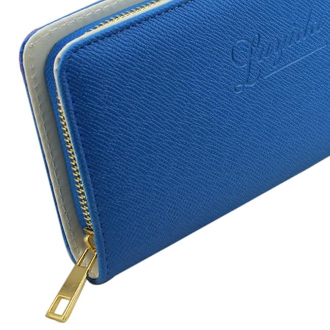 5pcs( Female coin purse single zipper clutch bag wallet ladies' wallet women's wallets purses ladies' Handbags blue coin 5 90