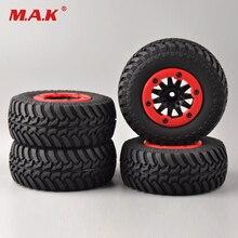 4 unids/set de neumáticos y rueda de bloqueo de cuentas 30004 para coche de control remoto 1:10, pista de coche corto, camión, Moto TRAXXAS Slash