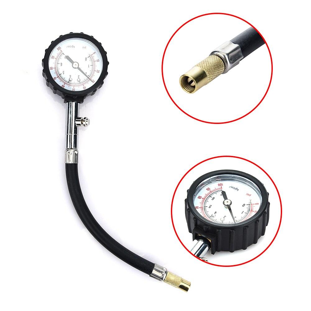Air Pressure Gauge : Universal car tire precision air gauge pressure meter