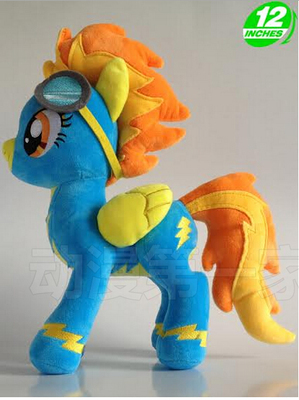 1PCS 32CM 288g New Spitfire limited edition little pet horse cotton plush doll toys печенье orion goute 288g