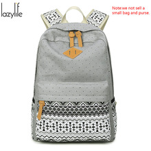 Lazylife корабли от RU дешевые женские рюкзак Mochila Escolar Женщины Школьный рюкзак для ноутбука Рюкзаки Дорожные сумки