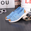 summer  2016 women mesh shoes lady sport casual shoes old Beijing women flats shoes EUR 35-40