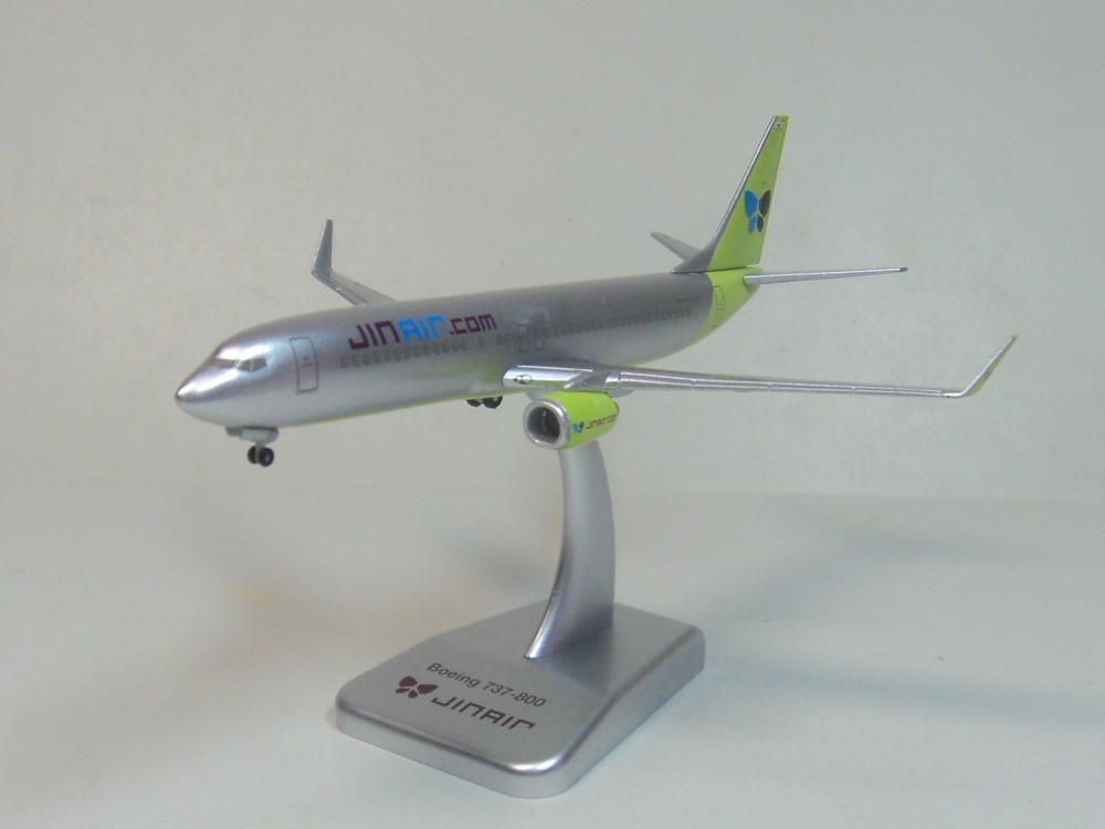 737-800 Jin Air Hogan 1:400 Han Guozhen aircraft model 1 500 ana 747 400 ana aircraft model ja8960 hogan