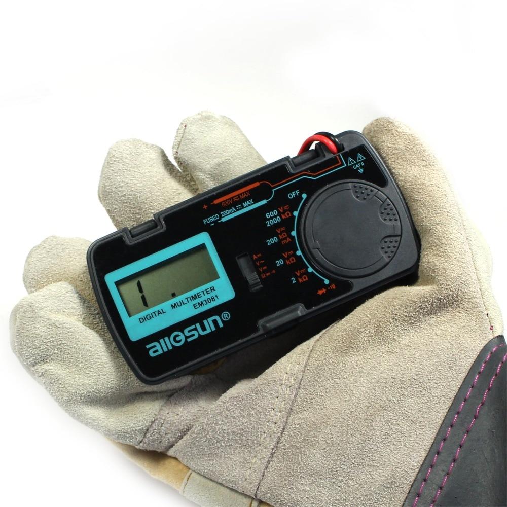 """""""all-sun"""" EM3081 EM3082 skaitmeninis multimetras 3 1/2 1999 - Matavimo prietaisai - Nuotrauka 4"""