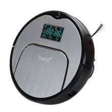 Eworld M883 ABS et En Alliage D'aluminium Robot Aspirateur pour Sec Humide De Nettoyage, 4 Couleurs Sans Fil Aspirateur pour la maison