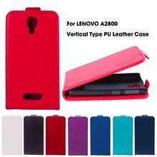 Vertical Magnetic Flip Leather Case For Lenovo A1000 Flip Case A2800 4.0 inch A2800-D A2800D Cover Housing Shell
