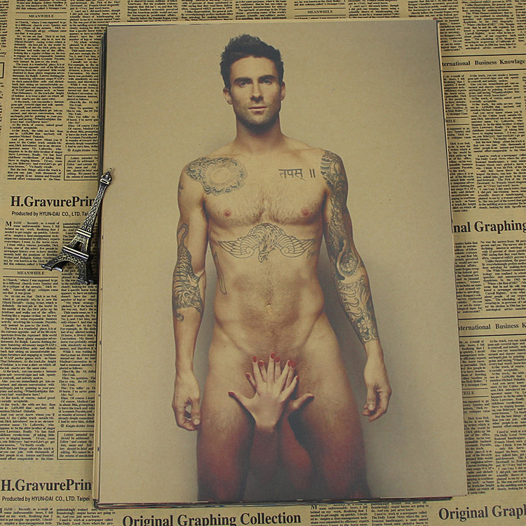 Maroon 5 Magic 5 Levine Adam Adam Noah Levin America and Europe band combination Kraft Poster