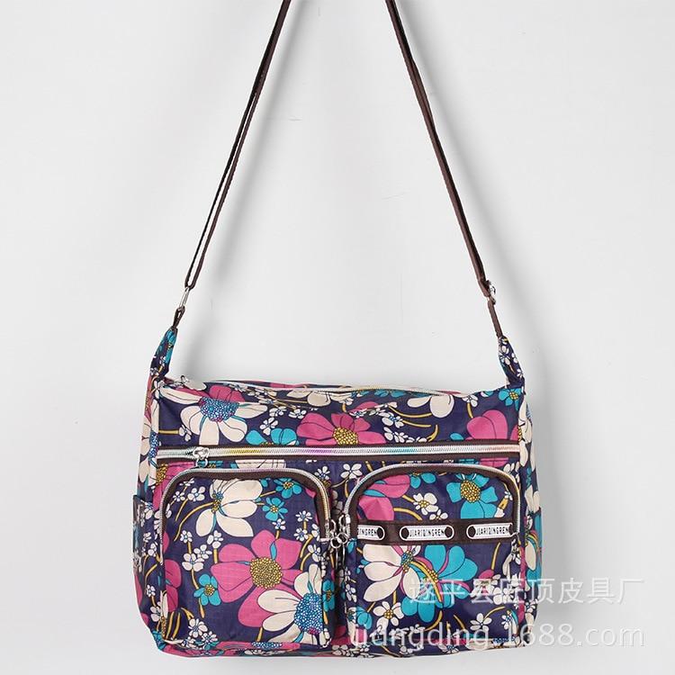 de2dfb27353c /Шт Новая женская сумка модная сумка на плечо женская большая емкость сумка  кросс нейлоновая ткань женская сумка 50Нам $13.99