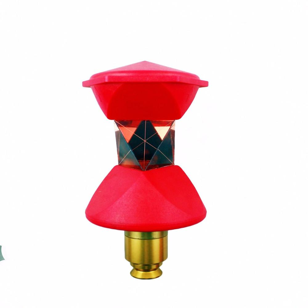 NEW red 360 Degree Reflective Prism for Robotic Total Station Leica style or 5/8