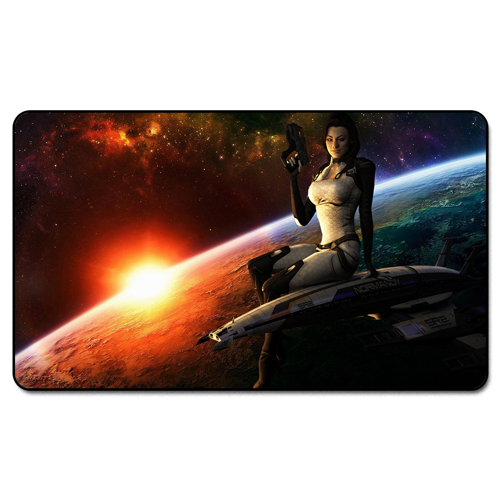 ( Mass Effect Miranda) MGT Playmat, Magical Board The Games Proxy Play Mat,Custom Playmat Design with Free Bag ...