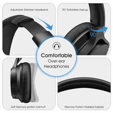 Mpow New EQ+APP Bluetooth 4.2 Wireless Headphones With Mic APTX Headset Earphone For iOS/ Android Phones TV Pad