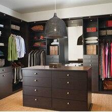 Современный шкаф на заказ, гардеробный шкаф с шкаф для хранения ящиков
