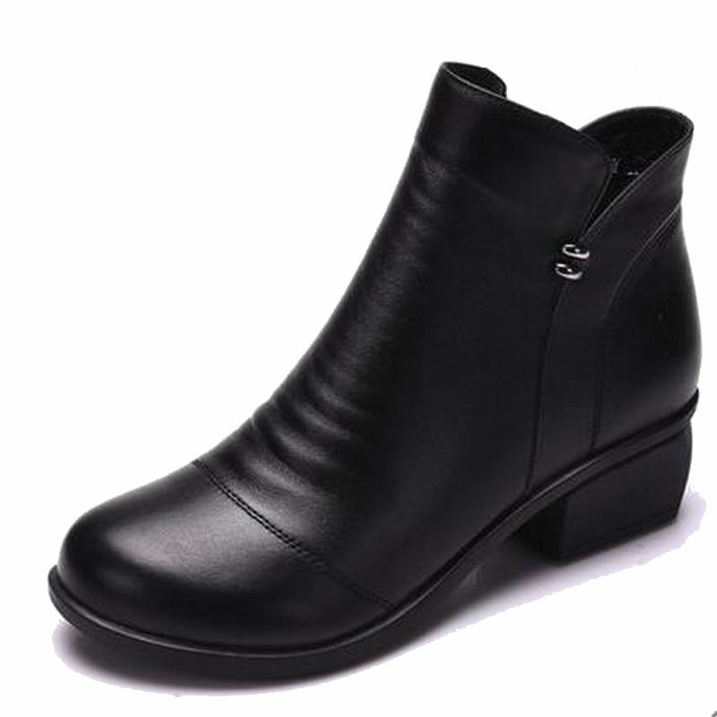 Talons Cuir Bottes Femme 100 Plus Taille Véritable Cheville La Zip gris Gris Noir 40 Femmes Noir pourpre Casual Chaussures En EfR1qnnSA