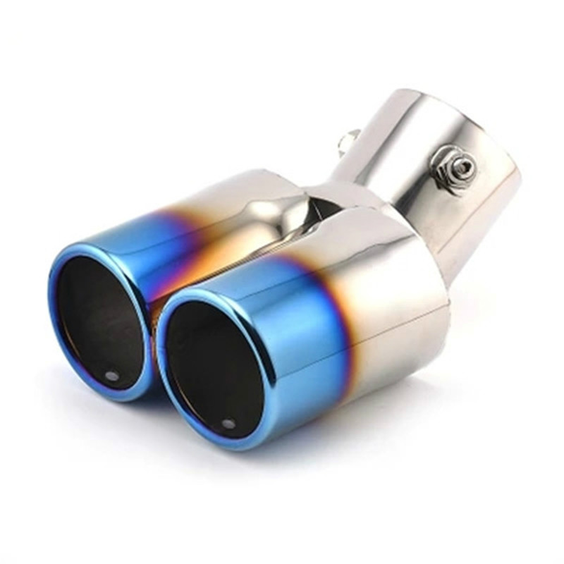 1 Car Chrome Exhaust Muffler Tail Pipe Tip Tailpipe For Chevy Cruze Sedan 12-19