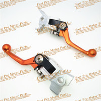 4 Directions Foldable Pivot Brake Clutch Lever For EXC EXCF EXCR XC XCF XCW XCFW SX