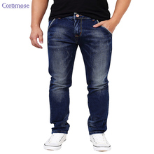 New Fashion 2016 Men's jeans High Quality Men Casual Hole Torn jeans Real Regular Full Length Zipper Fly Denim Geans Trousers