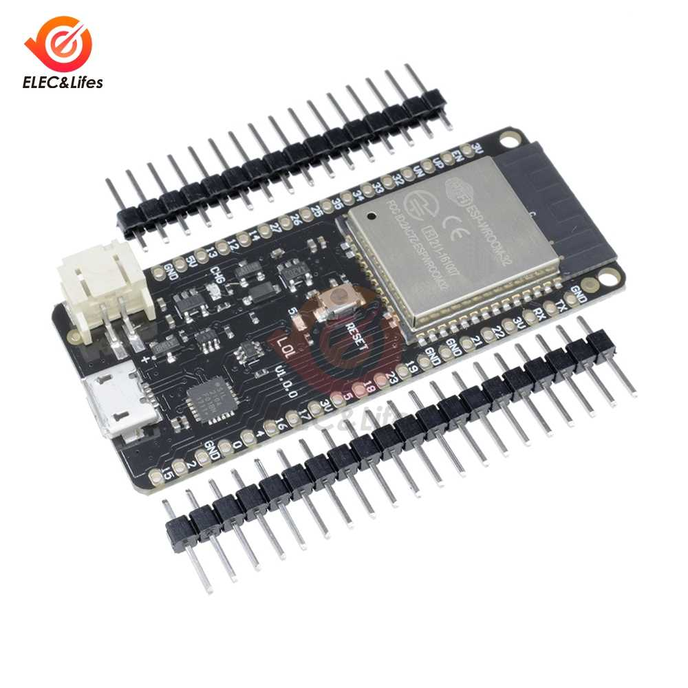 for WeMos Mini D1 LOLIN32 ESP32 ESP-32 ESP-32S ESP32S Wifi Bluetooth Wireless Module Based ESP-WROOM-32 Dual Core CPU 4MB Flash